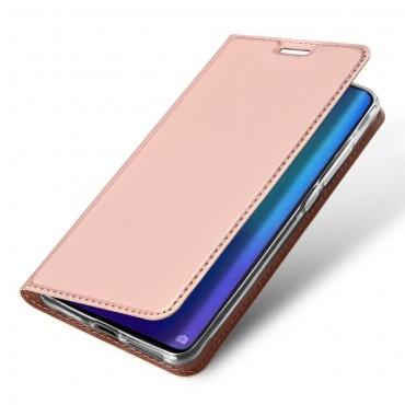 """Módní kryt z umělé kůže """"Skin"""" pro Huawei P30 Pro - růžový"""