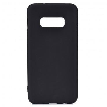 Kryt TPU gel pro Samsung Galaxy S10e - černý
