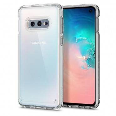 "Kryt Spigen ""Ultra Hybrid"" pro Samsung Galaxy S10e - crystal clear"