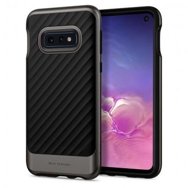 """Obal Spigen """"Neo Hybrid"""" pro Samsung Galaxy S10e - kovově černý"""
