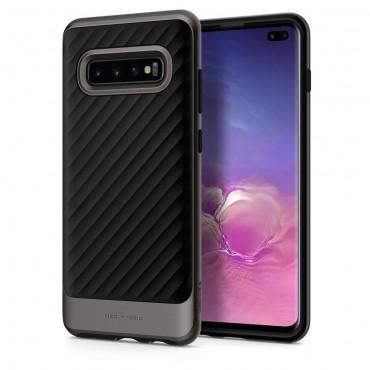 """Obal Spigen """"Neo Hybrid"""" pro Samsung Galaxy S10 Plus - kovově černý"""
