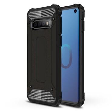 """Robustní kryt """"Rock"""" pro Samsung Galaxy S10 - černé"""