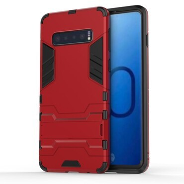 """Robustní kryt """"Impact X"""" pro Samsung Galaxy S10 - červené"""