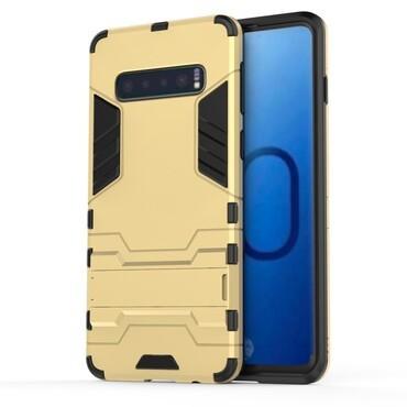 """Robustní kryt """"Impact X"""" pro Samsung Galaxy S10 - zlatý"""