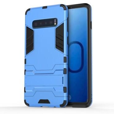 """Robustní kryt """"Impact X"""" pro Samsung Galaxy S10 - modrý"""