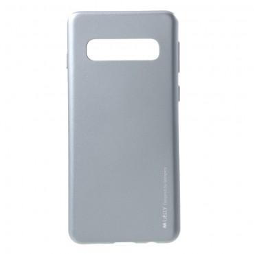 Kryt TPU gel Goospery iJelly Case pro Samsung Galaxy S10 - šedý