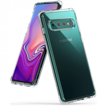 "Kryt Ringke ""Fusion"" pro Samsung Galaxy S10 - clear"