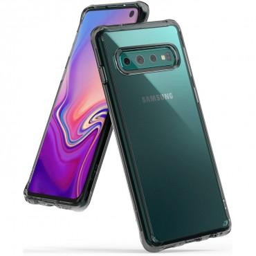 "Kryt Ringke ""Fusion"" pro Samsung Galaxy S10 - smoke black"