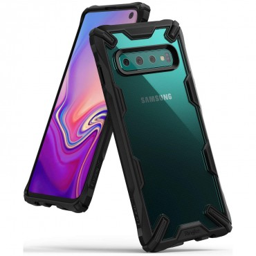 "Kryt Ringke ""Fusion X"" pro Samsung Galaxy S10 - black"