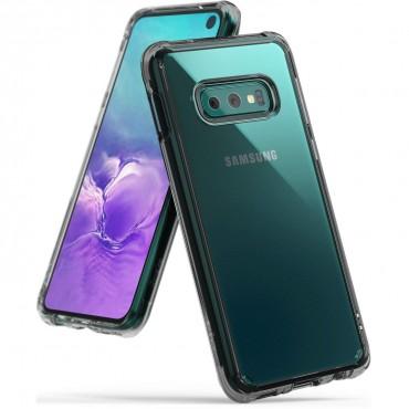 """Obal Ringke """"Fusion"""" pro Samsung Galaxy S10e - kouřově černý"""