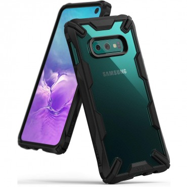"Obal Ringke ""Fusion X"" pro Samsung Galaxy S10e - černý"
