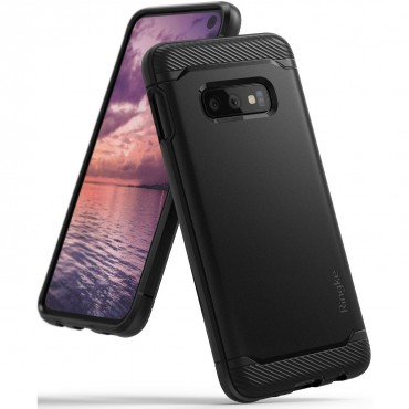 "Kryt Ringke ""Onyx"" pro Samsung Galaxy S10e - černý"