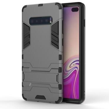 """Robustní obal """"Impact X"""" pro Samsung Galaxy S10 Plus - šedý"""