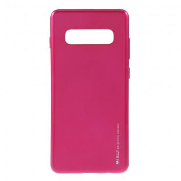 TPU gelový obal Goospery iJelly Case Samsung Galaxy S10 Plus - purpurový
