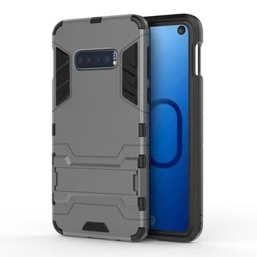 """Robustní kryt """"Impact X"""" pro Samsung Galaxy S10e - šedý"""