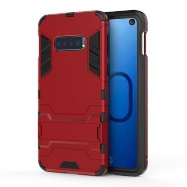 """Robustní obal """"Impact X"""" pro Samsung Galaxy S10e - červený"""