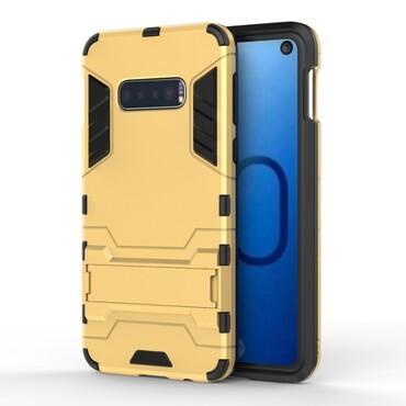 """Robustní kryt """"Impact X"""" pro Samsung Galaxy S10e - zlatý"""