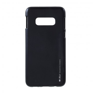 Kryt TPU gel Goospery iJelly Case pro Samsung Galaxy S10e - černý
