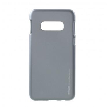 Kryt TPU gel Goospery iJelly Case pro Samsung Galaxy S10e - šedý
