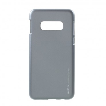 TPU gelový obal Goospery iJelly Case Samsung Galaxy S10e - šedý