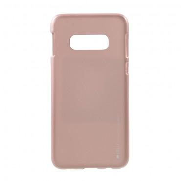 Kryt TPU gel Goospery iJelly Case pro Samsung Galaxy S10e - růžový