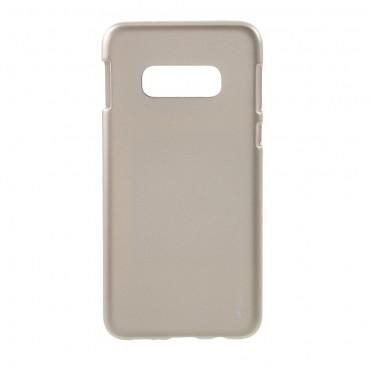Kryt TPU gel Goospery iJelly Case pro Samsung Galaxy S10e - zlatý