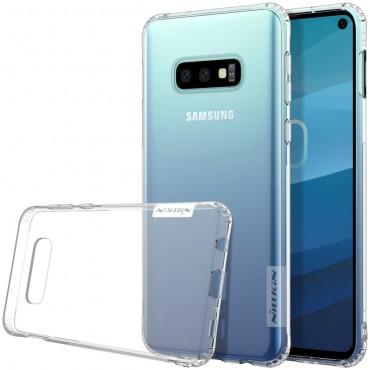 """Prémiový tenký obal """"Nature"""" Samsung Galaxy S10e - průhledný"""