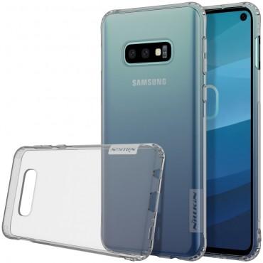 """Prémiový tenký obal """"Nature"""" Samsung Galaxy S10e - šedý"""