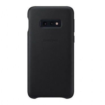 """Originální obal """"Silicone Cover"""" pro Samsung Galaxy S10e - černý"""