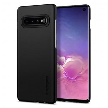 """Kryt Spigen """"Thin Fit"""" pro Samsung Galaxy S10 - black"""