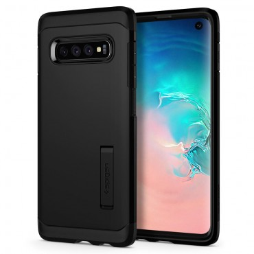 "Kryt Spigen ""Tough Armor"" pro Samsung Galaxy S10 - černý"