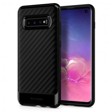 """Kryt Spigen """"Neo Hybrid"""" pro Samsung Galaxy S10 - black"""