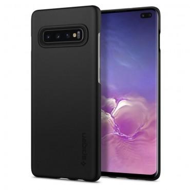 """Kryt Spigen """"Thin Fit"""" pro Samsung Galaxy S10 Plus - black"""