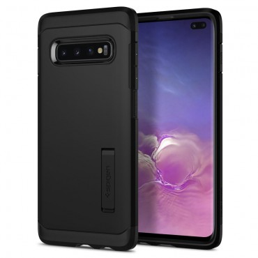 "Obal Spigen ""Tough Armor"" pro Samsung Galaxy S10 Plus - černý"