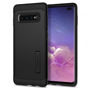 "Kryt Spigen ""Slim Armor"" pro Samsung Galaxy S10 Plus - black"