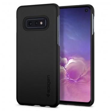 """Kryt Spigen """"Thin Fit"""" pro Samsung Galaxy S10e - black"""