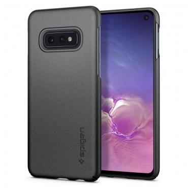"""Obal Spigen """"Thin Fit"""" pro Samsung Galaxy S10e - šedý"""