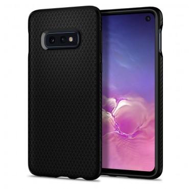 """Obal Spigen """"Liquid Air"""" pro Samsung Galaxy S10e - matně černý"""