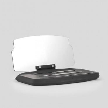 Přenosný průhledový displej Zeemax QI Plus s QI nabíjením na palubní desku