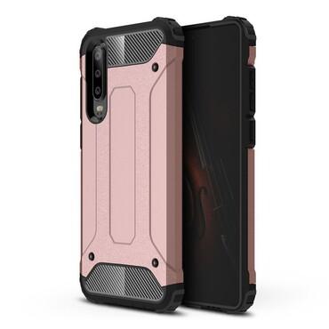 """Robustní obal """"Rock"""" pro Huawei P30 - růžový"""