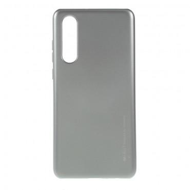 Kryt TPU gel Goospery iJelly Case pro Huawei P30 - šedý