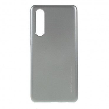 TPU gelový obal Goospery iJelly Case Huawei P30 - stříbrný