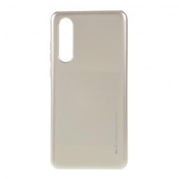 TPU gelový obal Goospery iJelly Case Huawei P30 - zlaté barvy