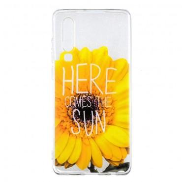 "Tenký TPU gelový obal ""Sunflower"" pro Huawei P30"