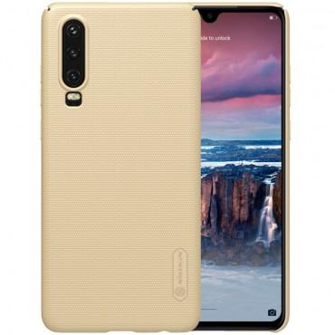 """Prémiový obal """"Super Frosted Shield"""" pro Huawei P30 - zlaté barvy"""