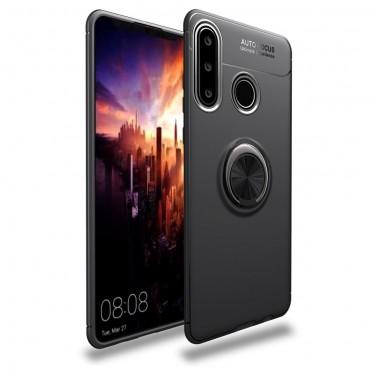 "Kryt TPU gel ""Multi Ring"" pro Huawei P30 Lite - černý"