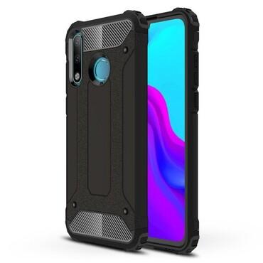 """Robustní obal """"Rock"""" pro Huawei P30 Lite - černý"""
