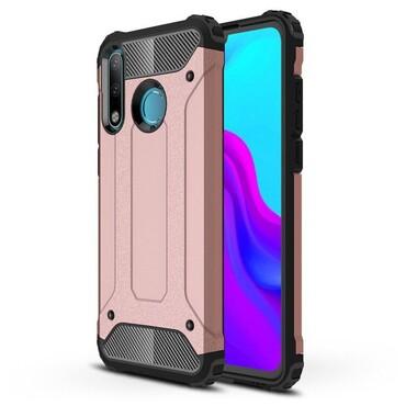 """Robustní obal """"Rock"""" pro Huawei P30 Lite - růžový"""