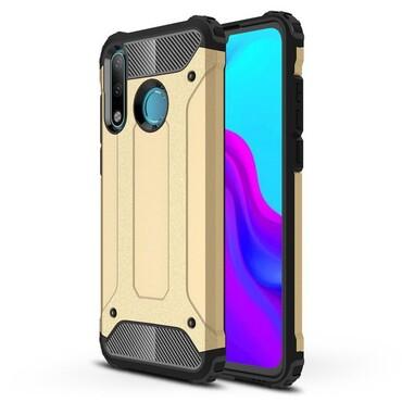 "Robustní obal ""Rock"" pro Huawei P30 Lite - zlaté barvy"