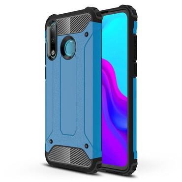 """Robustní obal """"Rock"""" pro Huawei P30 Lite - modrý"""